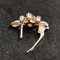 Изумительные Золотые серьги Б/У  583 пробы, вес 9,73г. Золото из Ломбарда., фото 2