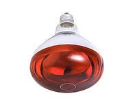 Лампа инфракрасная Tehnomur R125 цвет стекла оранжевый 375 Вт