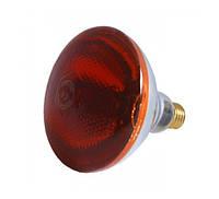 Лампа инфракрасная Tehnomur PAR38 цвет стекла оранжевый 150 Вт