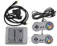 Игровая консоль с джойстиками, приставка с играми 7307