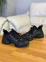 Кроссовки Christian Dior D-connect Black Кристиан Диор Чёрные (36,37,38,39,40) Реплика, фото 3