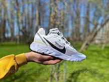 Кроссовки Nike REACT ELEMENT White logo Найк Реакт Элемент Черный логотип  (41,42,43,44,45), фото 2
