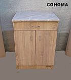 Стол кухонный 60х60  (Сонома), фото 2
