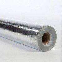 Защитное теплоотражающее покрытие Алюхолст AL+PET 140 1 x 50 м (с защитным покрытием)