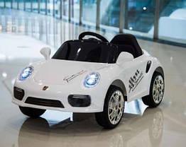 Дитячий електромобіль T-7642 Porsche Білий