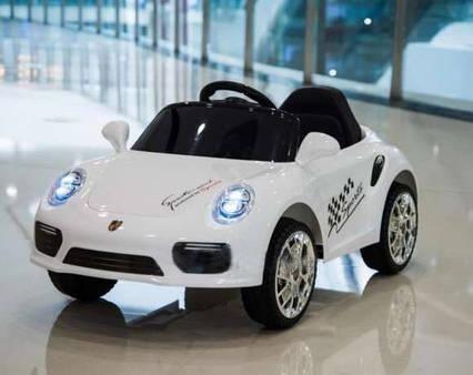 Детский электромобиль T-7642 Porsche Белый