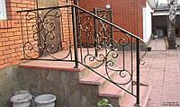 Перила металлические сварные для лестниц