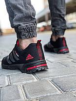 Кроссовки мужские 18603, Adidas Spring Blade, черные, [ 41 42 43 44 45 46 ] р. 41-26,5см., фото 2