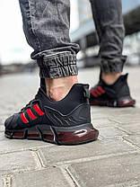 Кросівки чоловічі 18613, Adidas x Pharrell Vento (TOP), чорні, [ 41 42 43 44 45 46 ] р. 41-26,5 див., фото 3