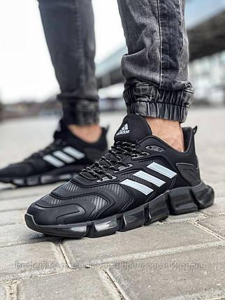Кросівки чоловічі 18614, Adidas x Pharrell Vento (TOP), чорні, [ 41 42 43 44 45 46 ] р. 41-26,5 див., фото 2