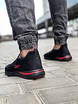 Кросівки чоловічі 18621, Reebok, чорні, [ 41 42 43 44 45 ] р. 41-27,0 див., фото 3