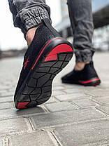 Кросівки чоловічі 18621, Reebok, чорні, [ 41 42 43 44 45 ] р. 41-27,0 див., фото 2