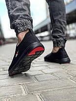 Кросівки чоловічі 18623, Reebok, чорні, [ 41 42 43 44 45 ] р. 41-27,0 див., фото 2