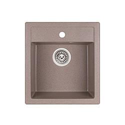 Кухонна мийка Qtap CS 5046 BEI (QT5046BEI551)