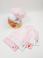 Детские польские косынки оптом для девочек, р.42-44 46-48, фото 1