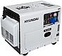Генератор дизельный Hyundai DHY 8500SE. Бесплатная доставка по Украине!, фото 2
