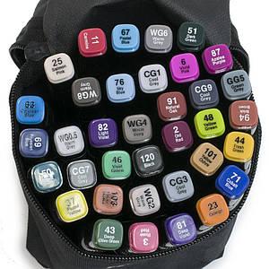 Набір скетч-маркерів 48 шт. для малювання двосторонніх Touch