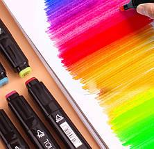 Набір скетч-маркерів 60 шт. для малювання двосторонніх Touch, фото 3