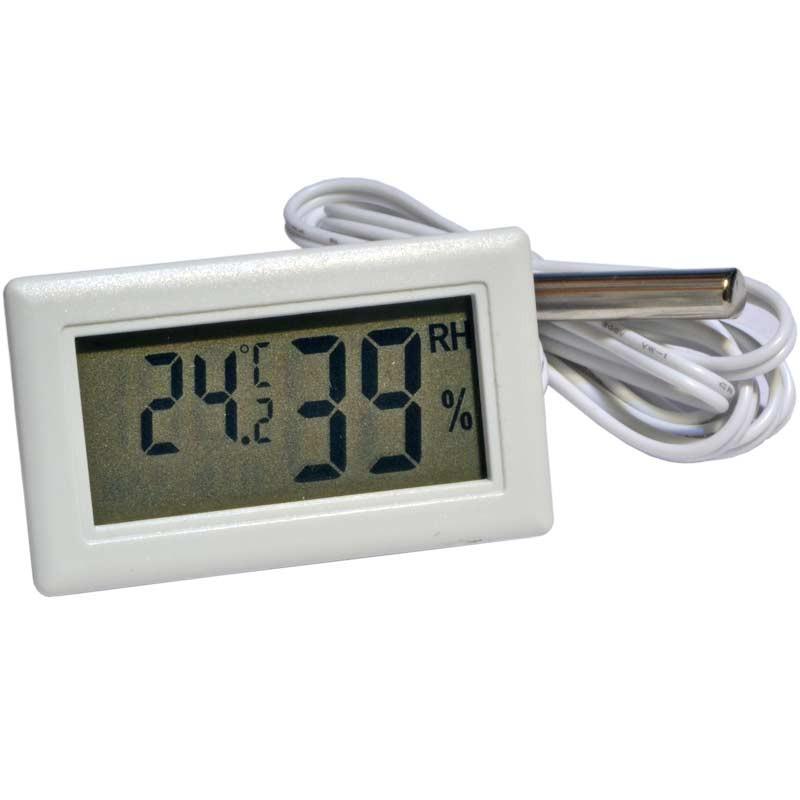 Термометр с влагомером на инкубатор электронный с выносным капиляром