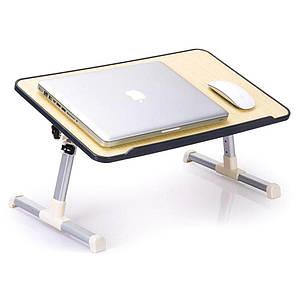 Стіл для ноутбука дерев'яний складаний Laptop Table
