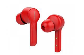 Бездротові навушники гарнітура Bluetooth Hopestar S11, червоні