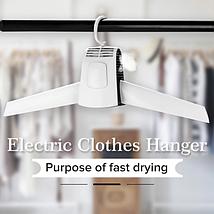 Вішалка електрична сушарка для одягу плічка Electric PRO Hanger, фото 3