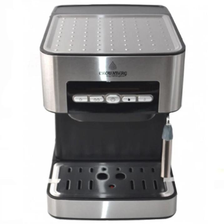 Кофемашина рожковая кофеварка Crownberg CB 1566