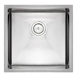 Кухонна мийка Qtap D4645 Satin 2.7/1.0 мм (QTD464510)
