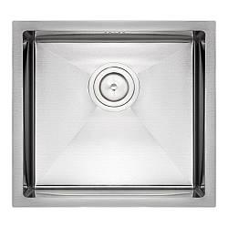 Кухонна мийка Qtap D4843 Satin 2.7/1.0 мм (QTD484310)