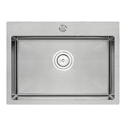 Кухонна мийка Qtap D5843 Satin 2.7/1.0 мм (QTD584310)