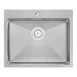 Кухонна мийка Qtap D6050 Satin 2.7/1.0 мм (QTD605010)