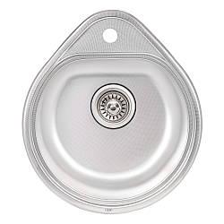 Кухонна мийка Qtap 4450 Micro Decor 0,8 мм (QT4450MICDEC08)