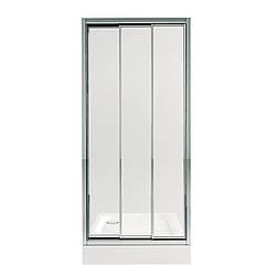 Набір Qtap двері в нішу Uniford CRM208.C4 + піддон Unisquare 308815