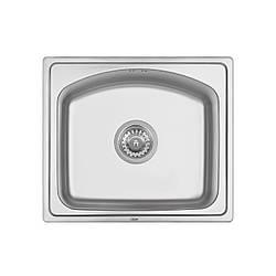 Кухонна мийка Qtap 4842 Satin 0,8 мм (QT4842SAT08)
