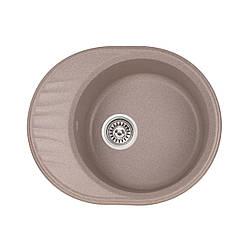 Кухонна мийка Qtap CS 6151 BEI (QT6151BEI551)