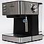 Электрическая Кофеварка эспрессо Crownberg CB-1565 Механическоя Молотый для Дома, Кафе, Гостиниц, Кухни, фото 8