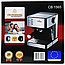 Электрическая Кофеварка эспрессо Crownberg CB-1565 Механическоя Молотый для Дома, Кафе, Гостиниц, Кухни, фото 10