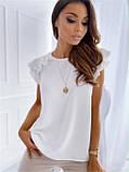 """Річна жіноча блуза з воланами """"Teresa"""" В І, фото 2"""