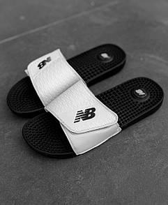 Чоловічі тапочки New Balance Black White