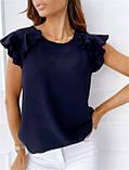"""Річна жіноча блуза з воланами """"Teresa"""" В І, фото 5"""