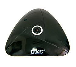 WIFI камера видеонаблюдения UKC 360 Panoramic Camera, беспроводная ip камера с удаленным доступом (GK)
