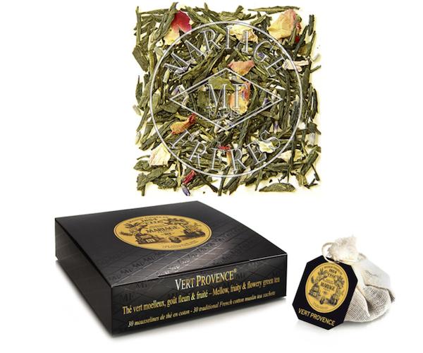 Зеленый чай Mariage Freres Vert Provence в пакетиках 30 шт