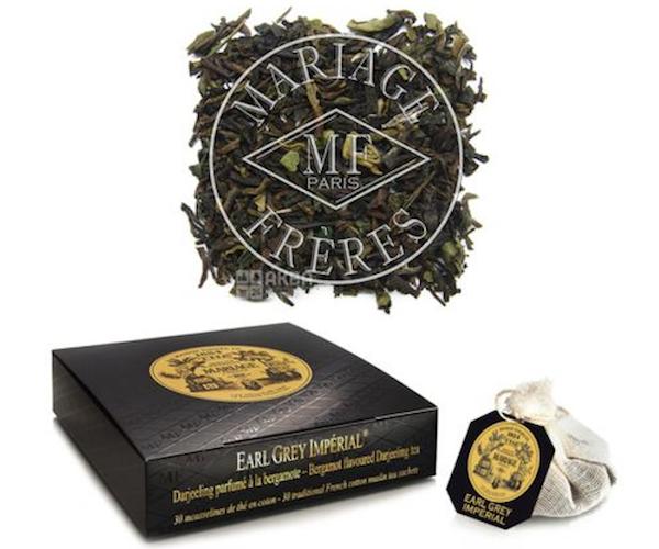 Черный чай Mariage Freres Earl Grey Imperial в пакетиках 30 шт