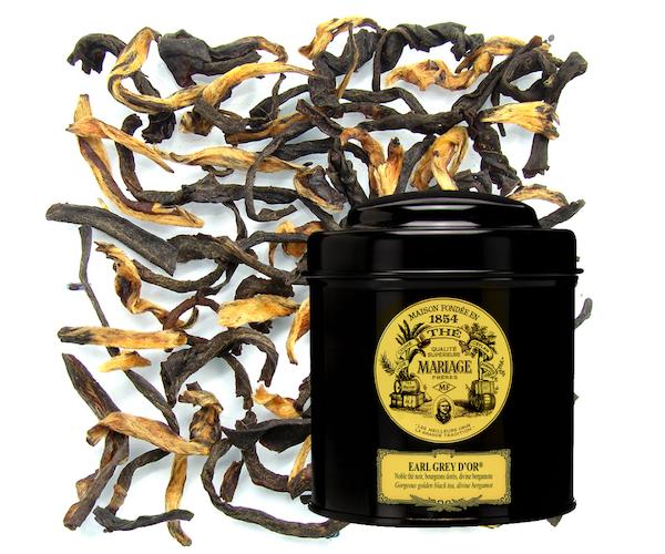 Чорний чай Mariage Freres Earl Grey d'or ж/б 100 р