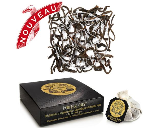 Черный чай Mariage Freres Paris Earl Grey в пакетиках 30 шт