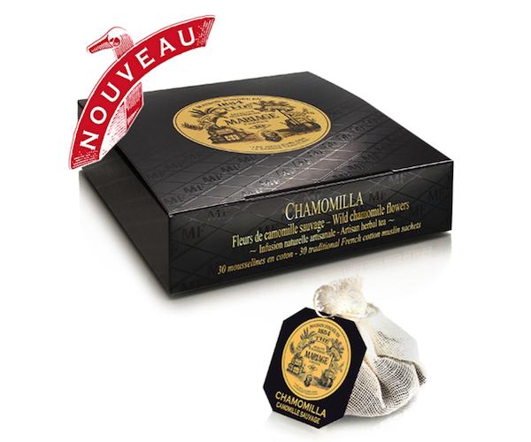 Травяной чай Mariage Freres Chamomilla в пакетиках 30 шт