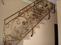 Цены на перила ручной ковки для лестниц