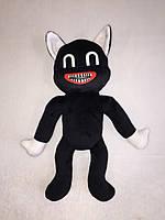 Мягкая игрушка Karinka Siren Head Cartoon Cat Картун Кэт 30 см Черный