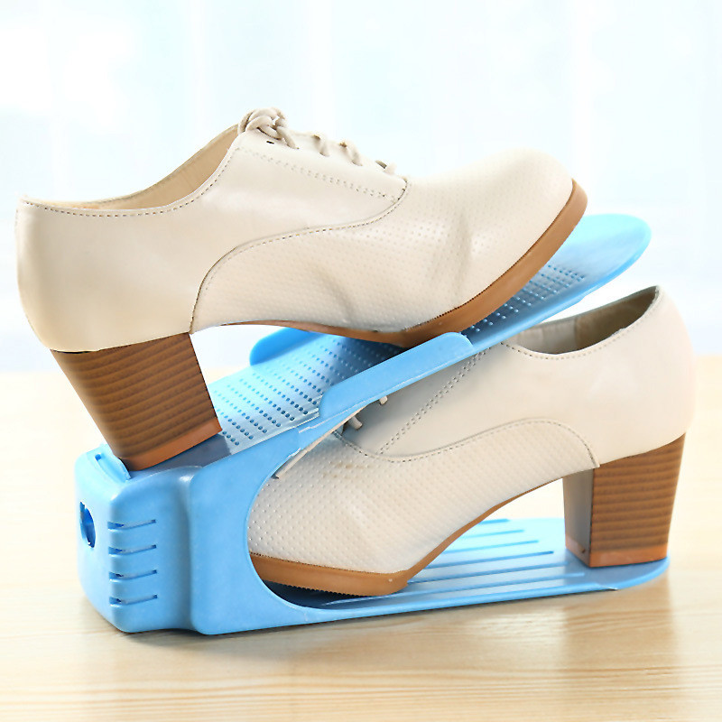 Подставка для обуви двойная (органайзер для обуви) Shoe Slotz