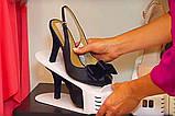 Подвійна стійка для взуття Supretto (набір 10 шт) Shoe Slotz Різнобарвний, фото 8